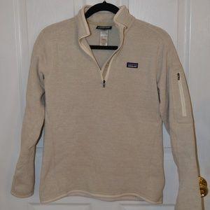 Women's Patagonia Better Sweater 1/4-Zip Oatmeal M